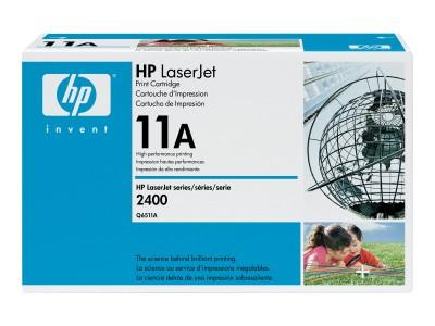 HP 11A LaserJet Original Toner schwarz Standardkapazität 6.000 Seiten 1er-Pack