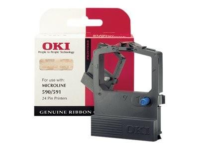 OKI Microline 590, 591 Tintenband schwarz 400.000.000 Zeigen 1er-Pack