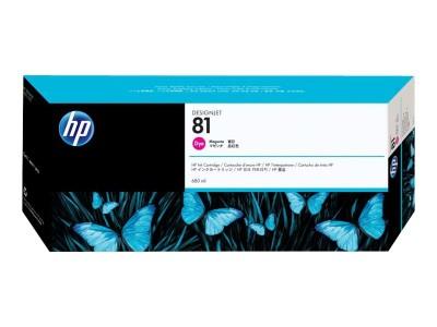 HP 81 Original Farbpatrone magenta Standardkapazität 680ml 1er-Pack