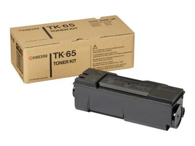 KYOCERA TK-65 Toner schwarz Standardkapazität 20.000 Seiten 1er-Pack