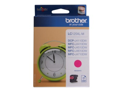 BROTHER LC125XL Tinte magenta 1200Seiten
