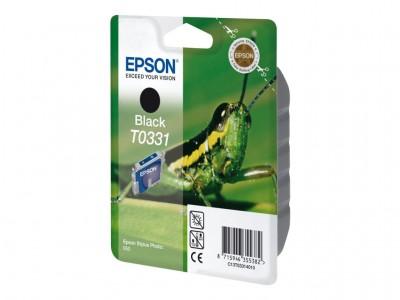 EPSON T0331 Tinte schwarz Standardkapazität 17ml 620 Seiten 1-pack blister ohne Alarm