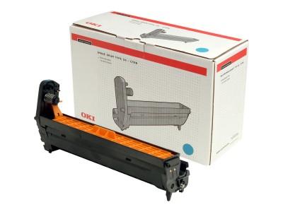 OKI C5100, C5200, C5300, C5400 Trommel cyan Standardkapazität 17.000 Seiten 1er-Pack