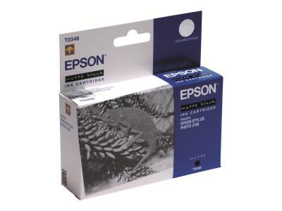 EPSON T0348 Tinte matt schwarz Standardkapazität 17ml 440 Seiten 1-pack blister ohne Alarm