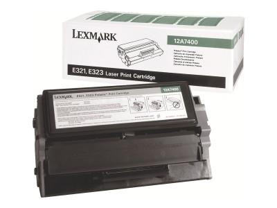LEXMARK E321, E323 Toner schwarz Standardkapazität 3.000 Seiten 1er-Pack Rückgabe