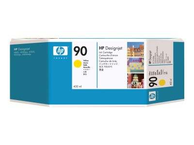 HP 90 Original Tinte gelb Standardkapazität 400ml 1er-Pack