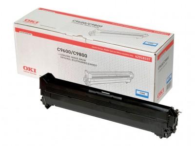 OKI C9600, C9650, C9800, C9850 Trommel cyan Standardkapazität 30.000 Seiten 1er-Pack