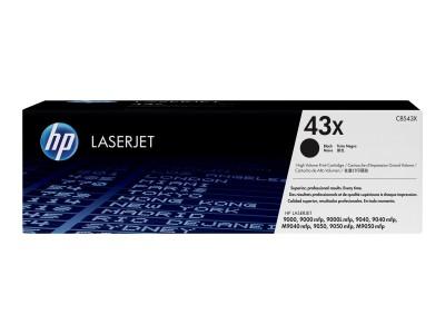HP 43X LaserJet Original Toner schwarz hohe Kapazität 30.000 Seiten 1er-Pack