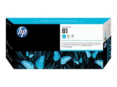 HP 81 Original Druckkopf cyan Standardkapazität 1er-Pack dye