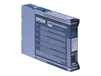 EPSON T5438 Tinte matt schwarz Standardkapazität 110ml 1er-Pack