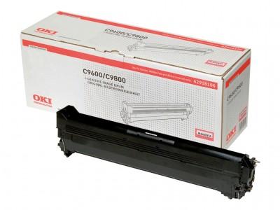 OKI C9600, C9650, C9800, C9850 Trommel magenta Standardkapazität 30.000 Seiten 1er-Pack