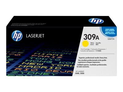 HP 309A Colour LaserJet Original Toner gelb Standardkapazität 4.000 Seiten 1er-Pack
