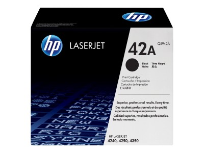HP 42A LaserJet Original Toner schwarz Standardkapazität 10.000 Seiten 1er-Pack