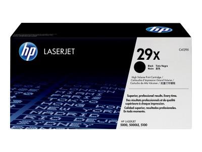 HP 29X LaserJet Original Toner schwarz hohe Kapazität 10.000 Seiten 1er-Pack