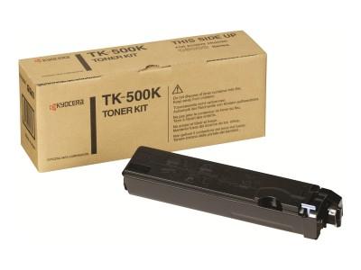 KYOCERA TK-500 Toner schwarz Standardkapazität 8.000 Seiten 1er-Pack