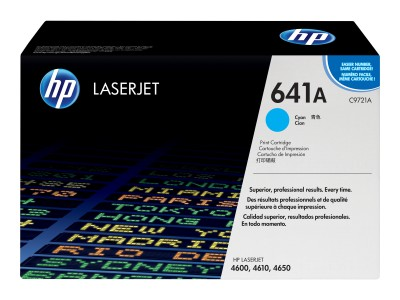 HP 641A Colour LaserJet Original Toner cyan Standardkapazität 8.000 Seiten 1er-Pack