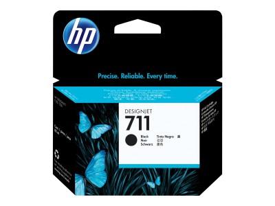 HP 711 Original Tinte schwarz hohe Kapazität 80ml 1er-Pack