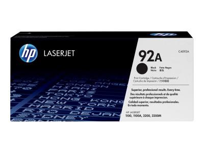 HP 92A LaserJet Original Toner schwarz Standardkapazität 2.500 Seiten 1er-Pack