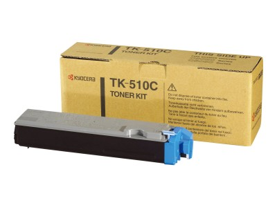 KYOCERA TK-510 Toner cyan Standardkapazität 8.000 Seiten 1er-Pack