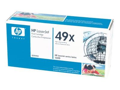HP 49X LaserJet Original Toner schwarz hohe Kapazität 6.000 Seiten 1er-Pack