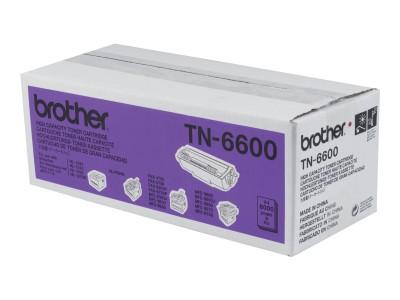 BROTHER TN-6600 Toner schwarz hohe Kapazität 6.000 Seiten 1er-Pack