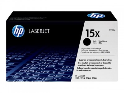 HP 15X LaserJet Original Toner schwarz hohe Kapazität 3.500 Seiten 1er-Pack