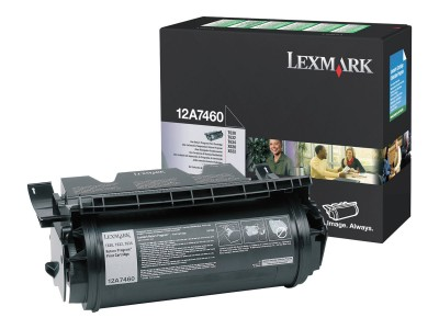 LEXMARK T63X Toner schwarz Standardkapazität 5.000 Seiten 1er-Pack Rückgabe