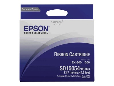 EPSON S015054 Farbband schwarz fabric 1er-Pack