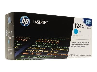 HP 124A Colour LaserJet Original Toner cyan Standardkapazität 2.000 Seiten 1er-Pack