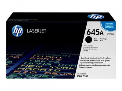 HP 645A Colour LaserJet Original Toner schwarz Standardkapazität 13.000 Seiten 1er-Pack