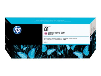 HP 81 Original Farbpatrone hell magenta Standardkapazität 680ml 1er-Pack
