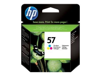 HP 57 Original Tinte dreifarbig hohe Kapazität 17ml 500 Seiten 1er-Pack