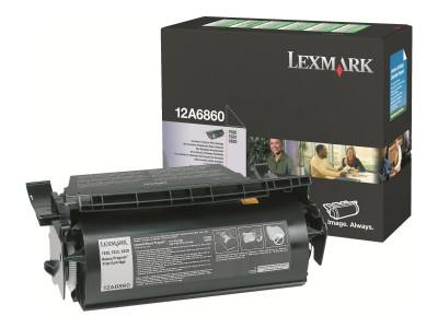 LEXMARK T62X Toner schwarz Standardkapazität 10.000 Seiten 1er-Pack Rückgabe