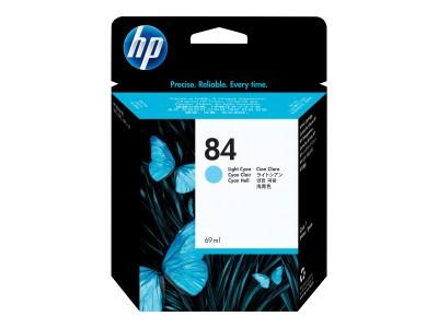 HP 84 Original Tinte hell cyan Standardkapazität 69ml 1er-Pack
