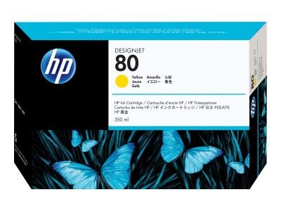 HP 80 Original Tinte gelb Standardkapazität 350ml 1er-Pack