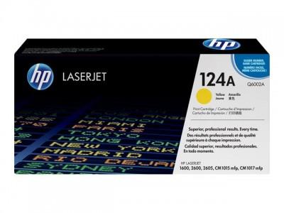 HP 124A Colour LaserJet Original Toner gelb Standardkapazität 2.000 Seiten 1er-Pack