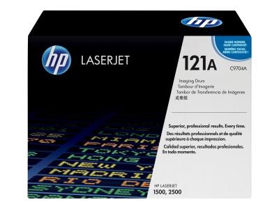 HP Colour LaserJet C9704A Trommel schwarz und farbig Standardkapazität schwarz 20.000 Seiten / Farbe
