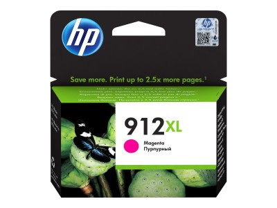 HP 912XL High Yield Magenta Ink