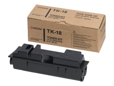KYOCERA TK-18 Toner schwarz Standardkapazität 7.200 Seiten A4 mit 5 Tonerdeckung