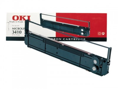 OKI Microline 3410 Farbband schwarz 7.000.000 Zeigen 1er-Pack