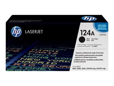 HP 124A Colour LaserJet Original Toner schwarz Standardkapazität 2.500 Seiten 1er-Pack