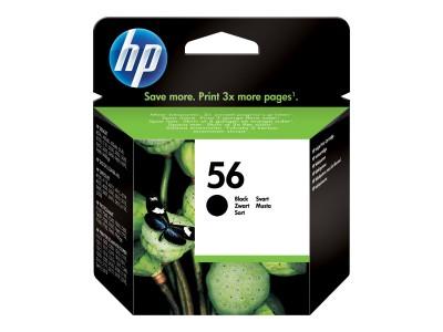 HP 56 Original Tinte schwarz hohe Kapazität 19ml 520 Seiten 1-pack Blister multi tag